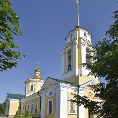 Храм Святителя Димитрия Ростовского в городе Алексеевка