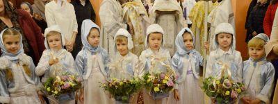 В день памяти священномученика Никодима Белгородского епископ Губкинский совершил службу в храме Новомучеников и исповедников Белгородских