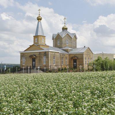 Храм Покрова Пресвятой Богородицы в селе Захарово