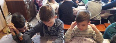 Турнир по шашкам  провели в честь Дня православной молодёжи в воскресной школе в Томаровке