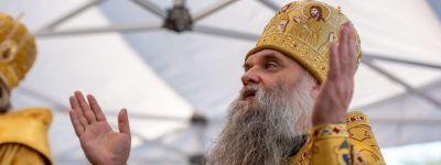 Епископ Валуйский принял участие в торжествах в Белгороде в честь 110-летия канонизации небесного покровителя Белогорья