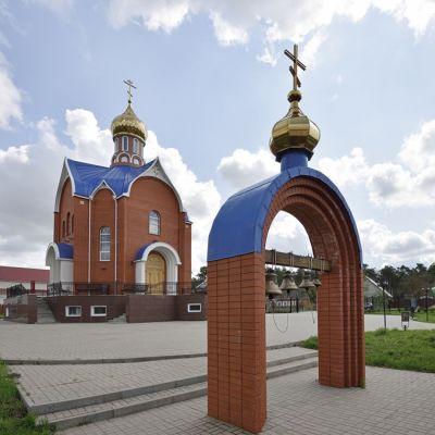 Храм в честь иконы Божией Матери «Тихвинская» в городе Шебекино