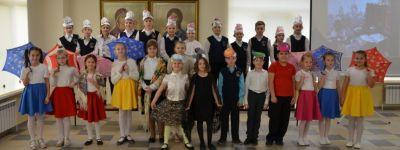 Концертом в начальной школе завершился фестиваль «Гимназическая осень» в православной гимназии Старого Оскола