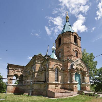 Храм Дмитрия Солунского в селе Дорогощь