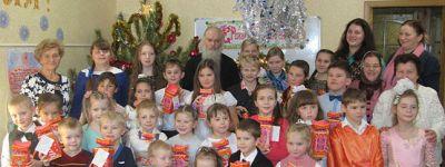 В воскресной школе Ильинского храма в Старом Осколе празднуют Рождество Христово