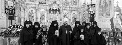 Митрополит Белгородский посетил Свято-Воскресенский женский монастырь села Зимовенька, где совершил постриг инокини Ирины (Фёдоровой)