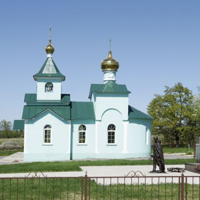 Храм-часовня преподобного Сергия Радонежского в селе Мазикино