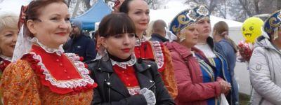 Настоятель храма Рождества Пресвятой Богородицы поздравил жителей Богородского с открытием фестиваля «Праздник гуся»
