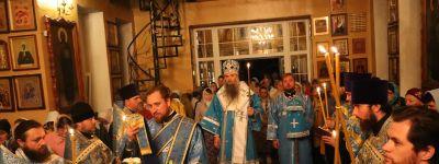Епископ Валуйский возглавил престольный праздник в Вейделевке