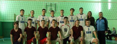 Волейбольная команда белгородской православной гимназии одержала две победы