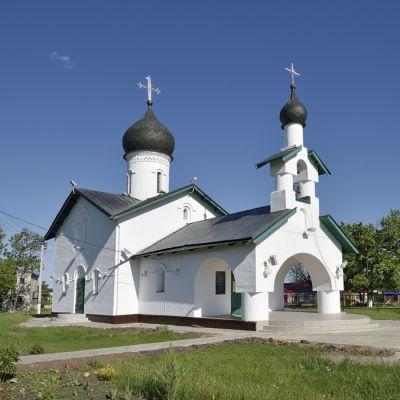 Храм Святителя Митрофана Воронежского в селе Малакеево