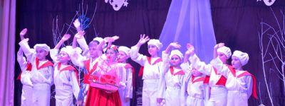 Валуйские школьники представили православным Соцгородка концертную программу «Под чистым небом Рождества»