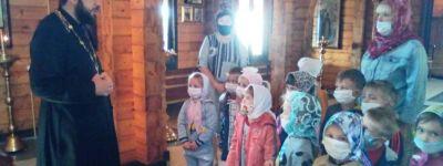 Ребята из детского сада «Росинка» побывали в храме иконы Божией Матери «Всех скорбящих Радость»