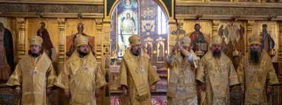 Епископ Валуйский принял участие в торжествах, посвященных 40-летию со Дня рождения Епископа Губкинского