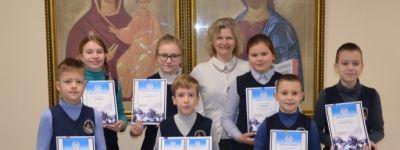Старооскольские православные гимназисты победили в городском этапе олимпиады «Наше наследие» среди учащихся 2-4 классов