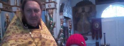 В храме святителя Димитрия Ростовского села Никитовка поздравили школьницу, ставшую призёром епархиального конкурса «Красота Божьего мира»