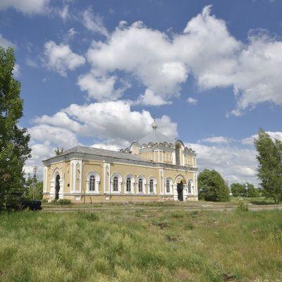 Храм Святителя Николая Чудотворца в селе Самарино