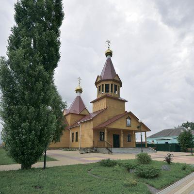 Храм Великомученика Георгия Победоносца в Репенке