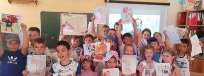 Интерактивный урок «Оскольская крепость» прошёл в православном школьном лагере «Ковчег»
