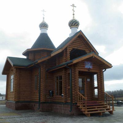 Храм Святого Богоявления в селе Лучки