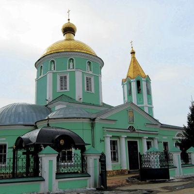 Храм Троицы Живоначальной в Старом Осколе