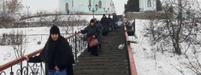 Сёстры Борисовского Богородице-Тихвинского монастыря смогли побывать в Курской Коренной пустыни