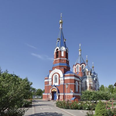 Храм святого благоверного князя Александра Невского в городе Алексеевка