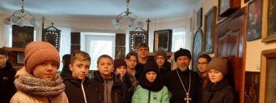 Музей иконы и старинной церковной утвари посетили ребята из школы села Гора-Подол
