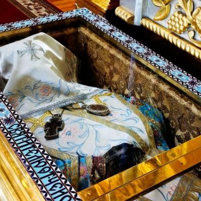 Мощи святителя Иоасафа, епископа Белгородского, чудотворца