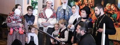 Клирики Прохоровского благочиния побывали в гостях у сестёр Борисовского Тихвинского монастыря