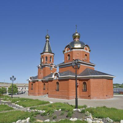 Храм Казанской иконы Божией матери в селе Казинка