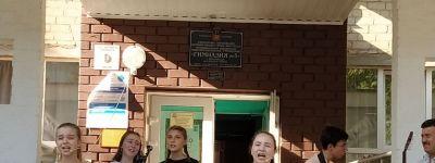 Праздничный концерт для белгородцев в День города дали воспитанники Воскресной школы Смоленского собора