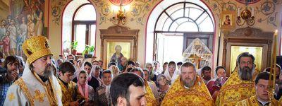 Храм Фёдора Стратилата в Старом Осколе отметил свой первый юбилей