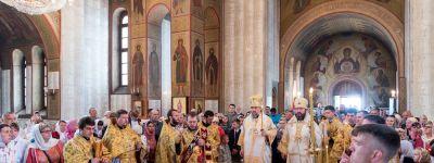 Епископ Губкинский принял участие в торжествах на Прохоровском поле