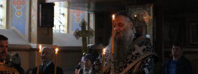Епископ Валуйский  совершил чин Пассии