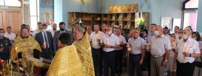 Праздник в честь 92-летия Белгородского района начался с молебна в храме святителя Алексия, митрополита Московского и всея Руси
