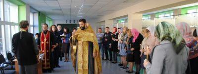 Школу в Бирюче освятили