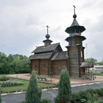 Крестильный храм святой равноапостольной княгини Ольги и мученицы княжны Анастасии в Старом Осколе