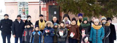 Епископ Валуйский побывал в детском центре «Семья» в Вейделевке