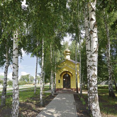 Храм-часовня во имя Святителя Иоасафа Белгородского в селе Афанасово