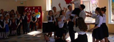 Праздничный концерт для любимых учителей дали в старооскольской православной гимназии