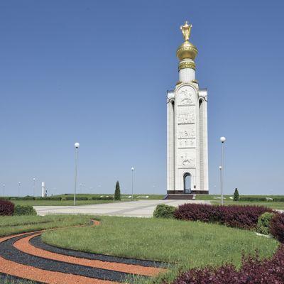 Мемориал Победы «Звонница» на Прохоровском танковом поле