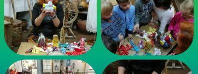 Экскурсию на выставку рукотворных кукол в Белгородском музее народной культуры организовали в православном детском саду