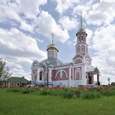 Храм Святой мученицы Татианы Римской в селе Бобрава