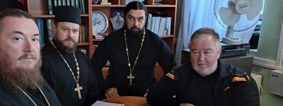 Совещание по духовному окормлению белгородского казачества состоялось в Сергиевском храме в Белгороде
