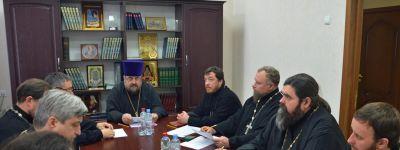 Собрание благочинных Губкинской епархии посвятили изучению Положения о благочиннических округах