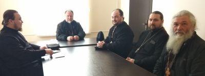 В Валуйском епархиальном управлении прошло собрание отдела по работе с казачеством