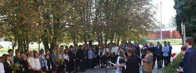 Священник выступил на митинге в память о герое