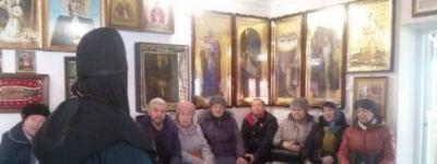 Паломники из Прохоровки, Белгорода и Курска побывали в Борисовском Богородице-Тихвинском монастыре