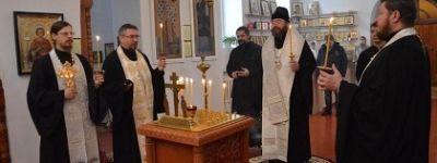 Заупокойную литию о покойном Предстоятеле Русской Православной Церкви совершили в Губкине